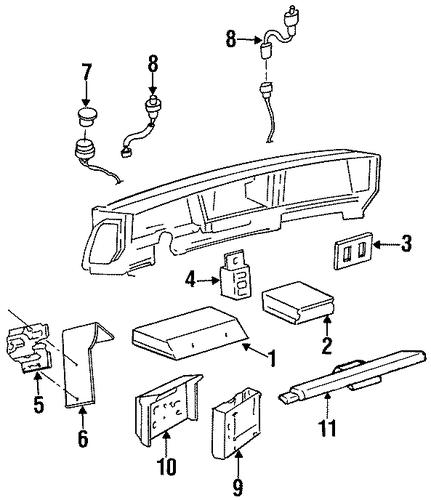 1997 Oldsmobile 88 Transmission: Buick LeSabre Sensor Connector 1997-1999