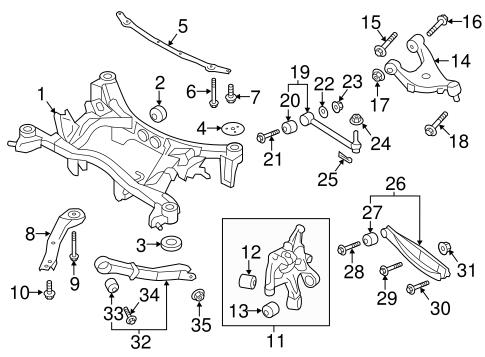 Subaru B9 Tribeca Parts