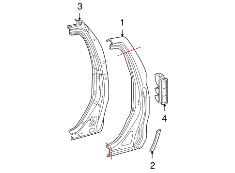 BODY/SIDE PANEL for 2010 Toyota Tundra #1
