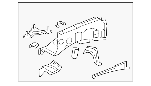 Apron Assembly - Toyota (53701-0C120)