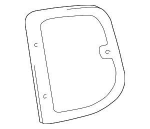 Door Glass - Toyota (62711-0C010)