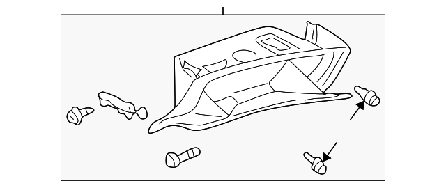 Glove Box - Toyota (55303-AC011-B0)
