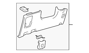 Lower Panel - Toyota (55045-48110-A0)