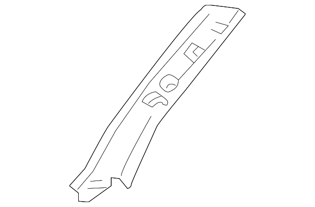 Windshield Pillar Trim - Toyota (62211-35070-E0)