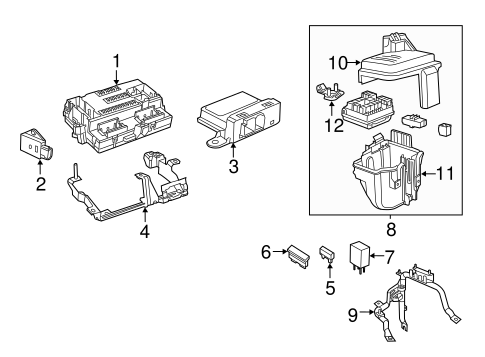 Anti Theft Components Scat