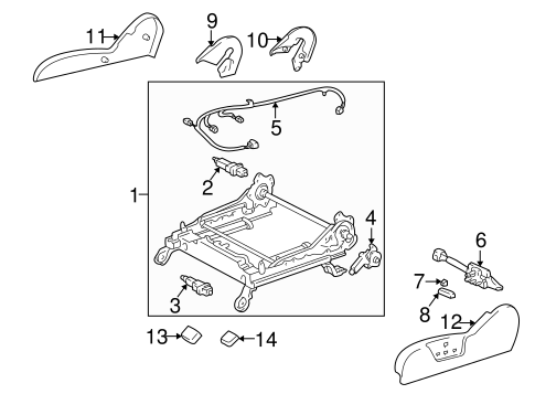 BODY/TRACKS & COMPONENTS for 1999 Toyota 4Runner #2