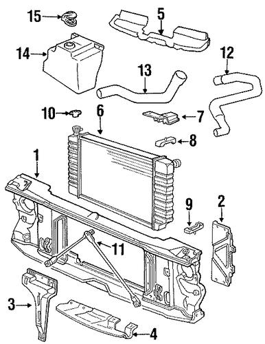 lower hose for 1992 chevrolet k2500 pickup   potamkin
