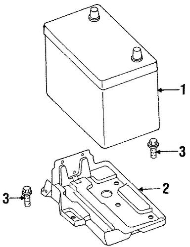 battery for 1997 nissan sentra