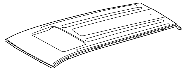 Roof Panel - Toyota (63111-0E110)