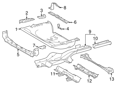 Front Extension - Toyota (58315-0R030)