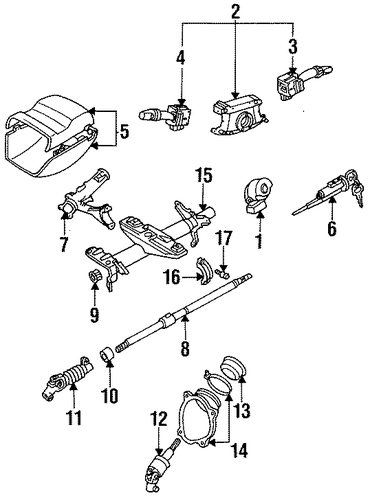ELECTRICAL/SWITCHES for 1996 Toyota Celica #1