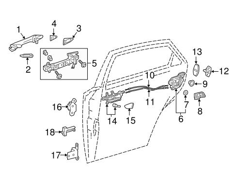 Lexus Door Lock Actuator