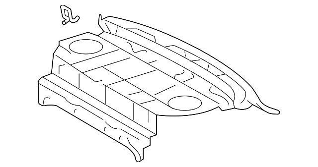 Package Tray - Toyota (64101-07070)