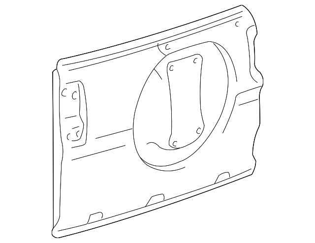 Door Shell - Toyota (67005-42090)
