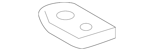 Reinforced Plate - Toyota (63169-60020)