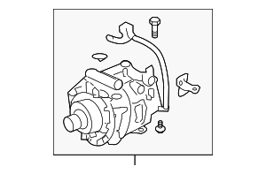Compressor Assembly - Honda (38810-PCX-016)