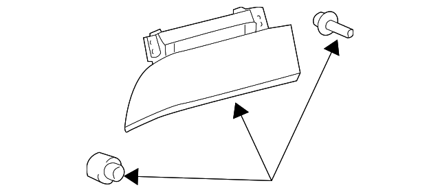 Storage Box Door - Toyota (55042-AE011-B0)