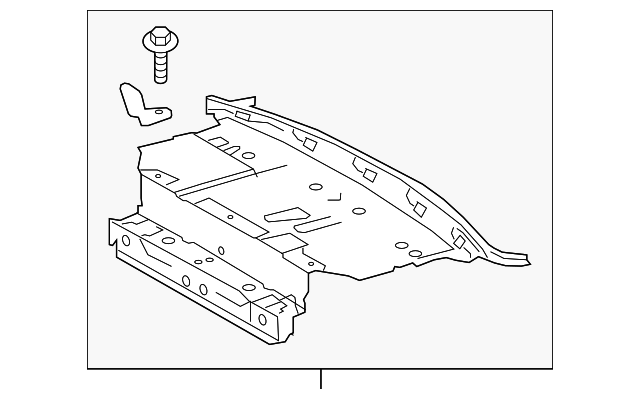 Package Tray - Toyota (64101-06360)