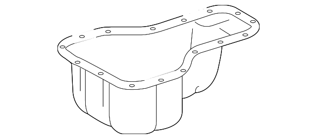 Oil Pan - Toyota (12101-0D010)