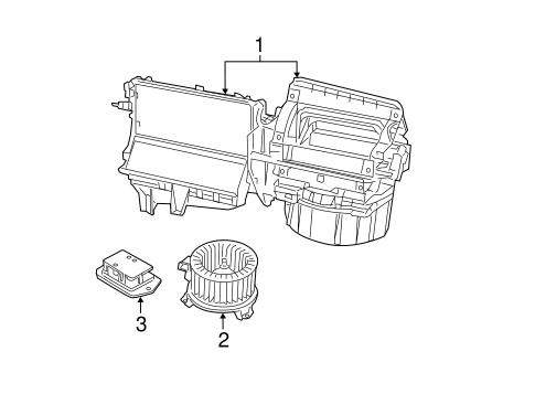 Blower motor fan for 2007 dodge caliber for Dodge ram blower motor