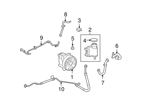 ford fusion milan mkz zephyr 2 3l power steering fluid. Black Bedroom Furniture Sets. Home Design Ideas