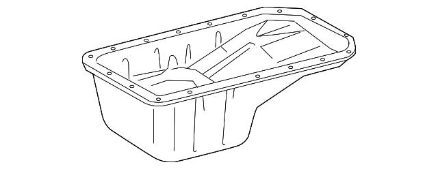 Oil Pan - Toyota (12101-75041)