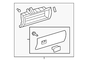 Glove Box Assembly - Toyota (55320-0C022-E1)