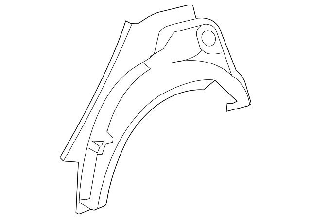 Outer Wheelhouse - Toyota (61631-02130)