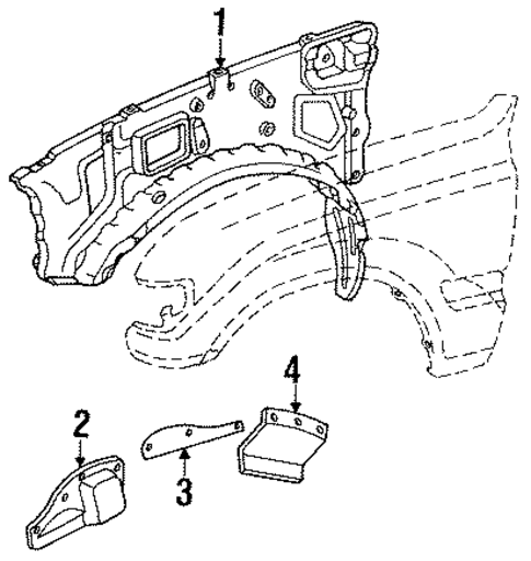 Apron Assembly - Toyota (53720-60100)