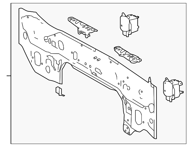 Rear Body Panel - Toyota (58307-0E050)