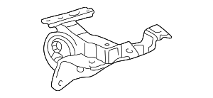 Side Mount - Toyota (12372-28041)
