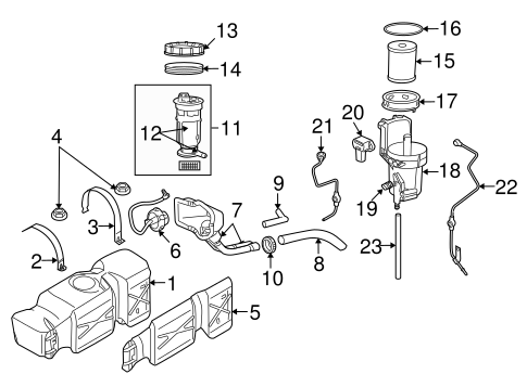 diesel components for 2006 dodge ram 2500