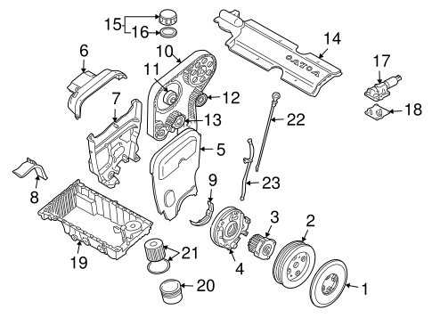 Engine Parts Scat
