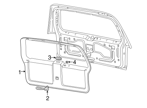 Interior Trim For 1999 Ford Explorer