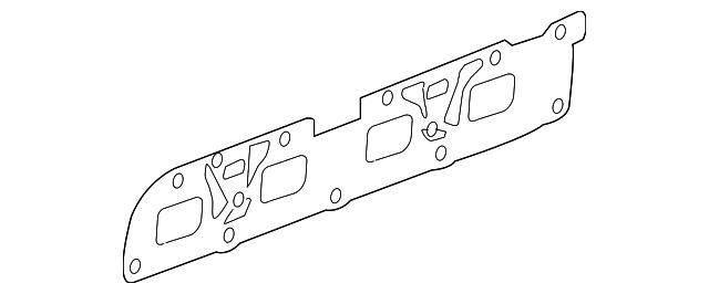 exhaust manifold gasket for 2011 chevrolet malibu