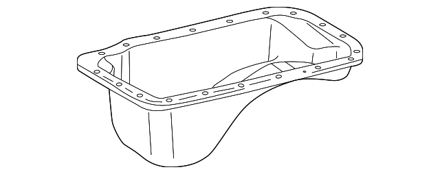 Oil Pan - Toyota (12101-62070)
