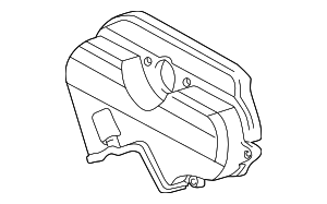 Upper Timing Cover - Toyota (11322-62901)