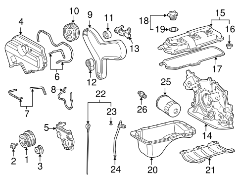 ENGINE/ENGINE PARTS for 2003 Toyota Tundra #1
