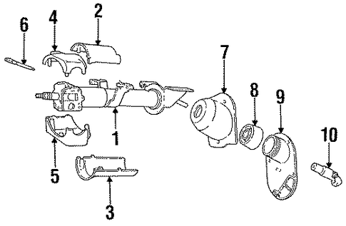Jeep Grand Cherokee Front Suspension Diagram in addition Chevelle Steering Column Diagram additionally Dodge 360 Headers furthermore Steering Column Assembly Scat also Cluster Truck Play Now For Free. on jeep wrangler steering column parts