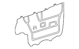Access Cover - Toyota (67831-08010)