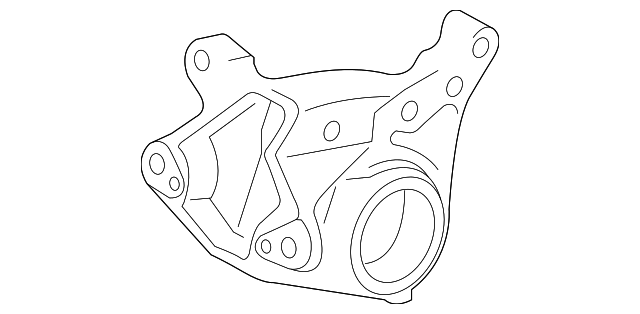 Rear Bracket - Toyota (12321-31141)