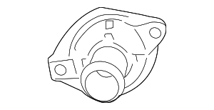OEM Honda 19311-RW0-A00 - Thermostat Cover