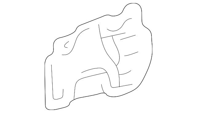 Lower Seal - Toyota (53736-33020)