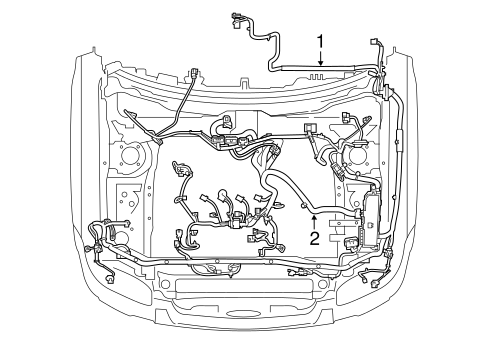 wiring harness for 2010 ford escape