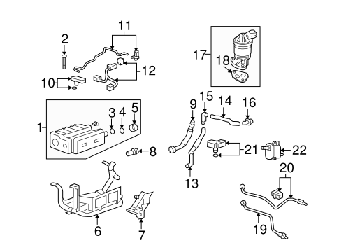 OEM Honda 37830-RNA-A01 - Sensor Assembly, Map