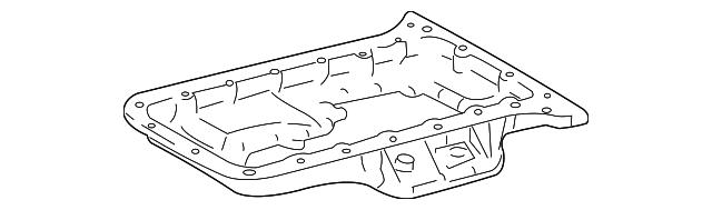 Oil Pan - Toyota (12111-50092)