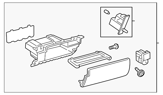 Glove Box Assembly - Toyota (55320-60091-A0)