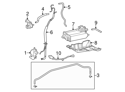 EMISSION SYSTEM/EMISSION COMPONENTS for 2011 Toyota Sienna #1