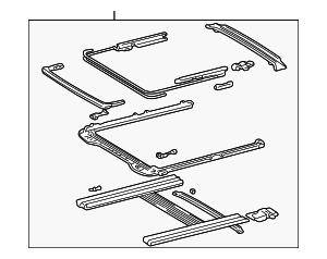 Housing Assembly - Toyota (63203-AA010-A0)