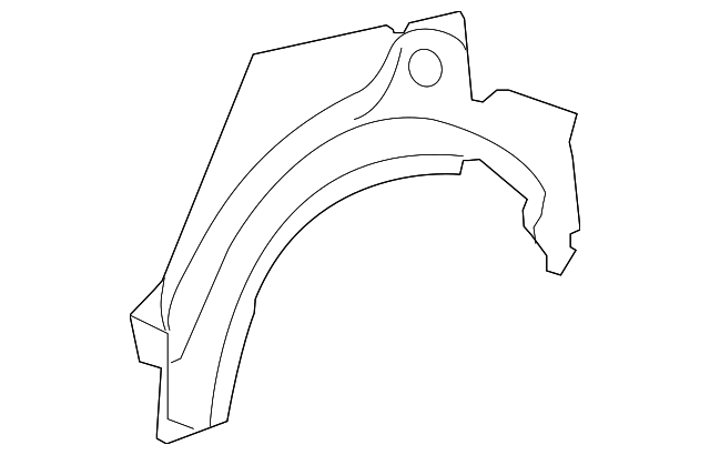 Outer Wheelhouse - Toyota (61631-52905)